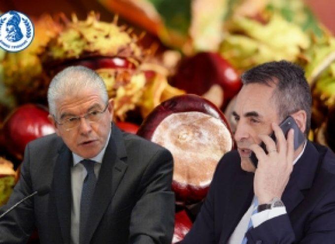 """Κώστας Τζιούμης: """"Βοηθήστε να αποζημιωθούν οι καστανοπαραγωγοί του Δήμου μας"""""""