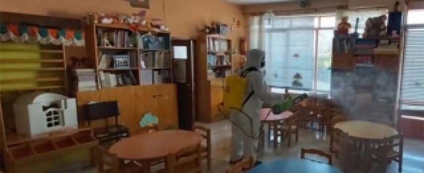Διαγνώστηκε σήμερα με κορωνοϊό γονέας παιδιού του Δημοτικού παιδικού σταθμού Αγίου Ανδρέα Κυνουρίας