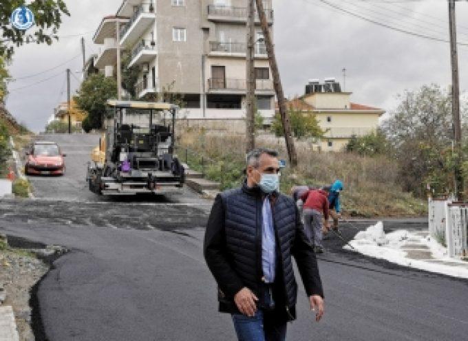 Κ. Τζιούμης: «Προχωράμε σε ασφαλτοστρώσεις δρόμων που ήταν απαραίτητες δεκαετίες ολόκληρες»