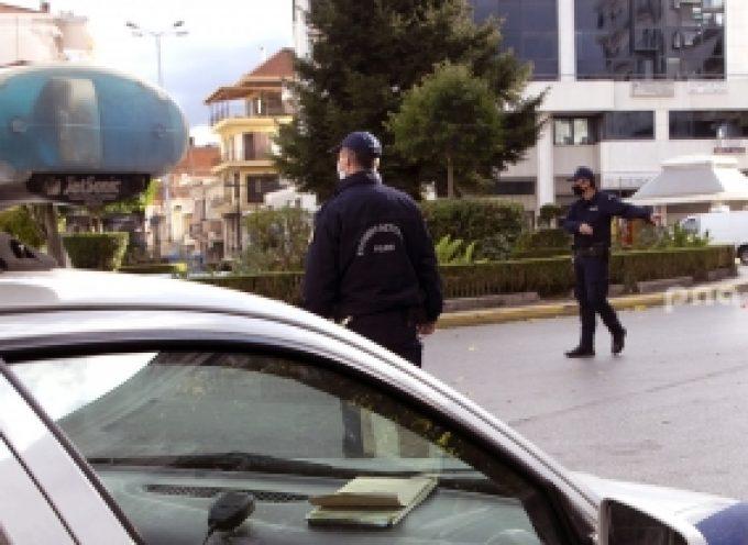 Τρίπολη | Έλεγχοι της Αστυνομίας για την ορθή τήρηση των μέτρων αποφυγής διασποράς του κορωνοιού