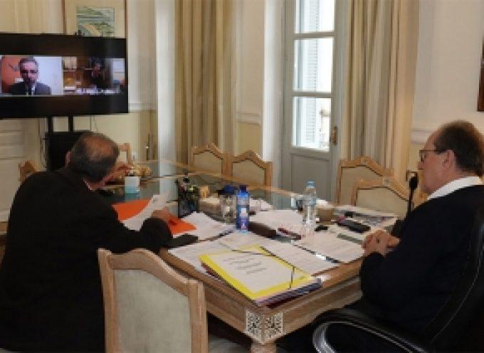 Υπογραφή στη σύμβαση για την συγκρότηση φακέλου δημιουργίας υδατοδρομίου στην Τάκα
