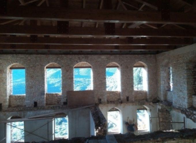 Καρύταινα: Ολοκληρώθηκε η αποκατάσταση της στέγης στο αρχοντικό Δημητρακόπουλου