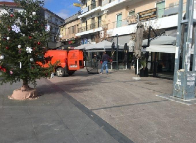 Μπόγιας στην Τρίπολη απομακρύνει αδέσποτα από το κέντρο!!