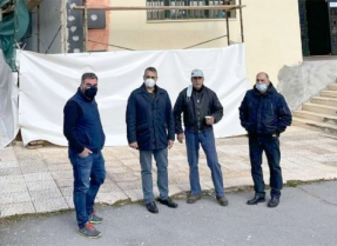 Το Γυμνάσιο – Λύκειο Λεβιδίου επισκέφθηκε ο Δήμαρχος Τρίπολης κ. Κώστας Τζιούμης