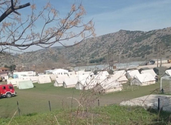 Παράδοση αγαθών στους σεισμόπληκτους της Περιφερειακής Ενότητας Λάρισας
