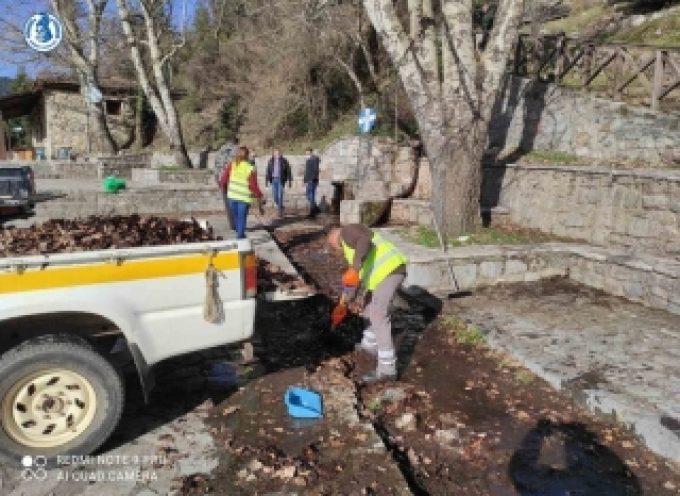 Δήμος Τρίπολης   Εργασίες σε Λιμποβίσι και άλσος Αγίου Γεωργίου