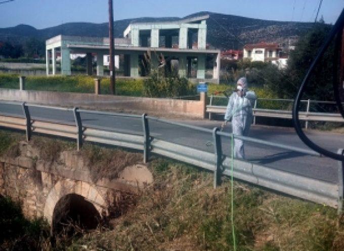 Ξεκίνησε η εφαρμογή καταπολέμησης κουνουπιών για το έτος 2021 στο Δήμο Βόρειας Κυνουρίας