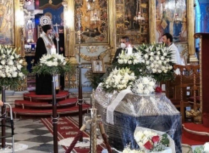 Ο επικήδειος λόγος του Δημάρχου Τρίπολης, Κώστα Τζιούμη, στην κηδεία του Δημήτρη Ταλαγάνη