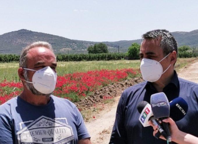 Αντώνης Μπιλίδας: «Είχαμε να δούμε μηχανήματα στον κάμπο εδώ και 20 χρόνια»
