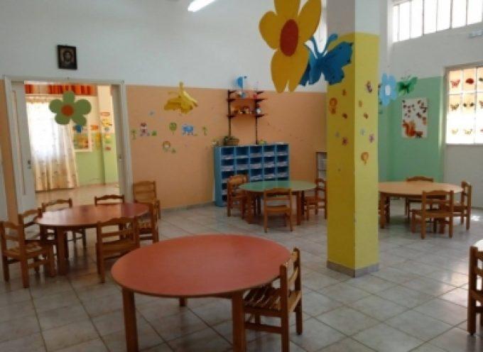 Εγγραφές νηπίων στους παιδικούς σταθμούς για το έτος 2021 – 2022