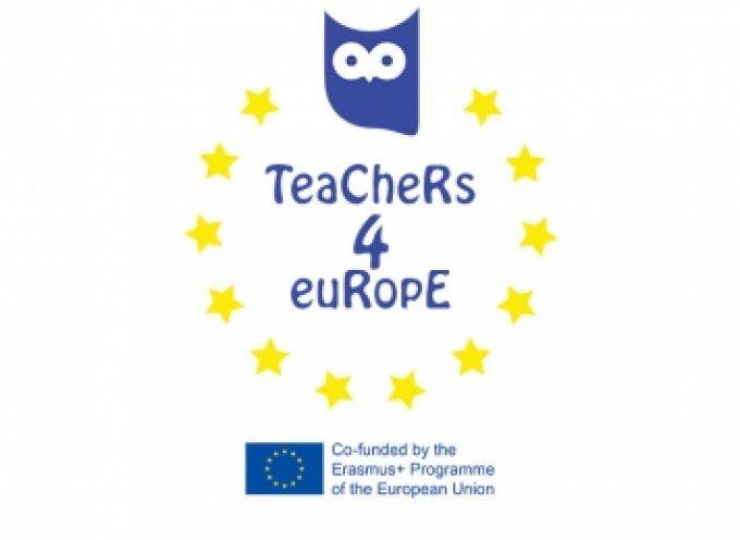 """Εκπαιδευτικοί μαθητές και μαθήτριες της Αρκαδίας συμμετέχουν στο Ευρωπαϊκό Πρόγραμμα Erasmus+ ΚΑ3 """"Teachers4Europe: setting an A…"""