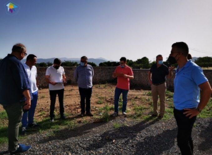 Εξελισσόμενα έργα σε Τεγέα, Λεβίδι, Βλαχέρνα και Κάψια επιθεώρησε η Διοίκηση του ΤΑΠΤοΚ