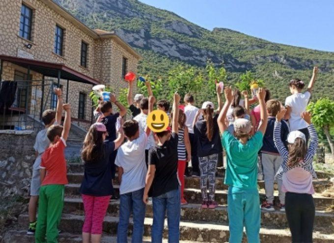 Το Νηπιαγωγείο και το Δημοτικό Σχολείο Κανδήλας στέλνουν το δικό τους ηχηρό μήνυμα για την Παγκόσμια Ημέρα Περιβάλλοντος