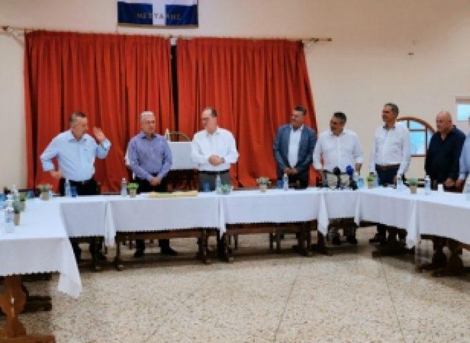 Υπεγράφη το εργολαβικό συμφωνητικό για την κατασκευή του Ενωσιακού γηπέδου στη Νεστάνη