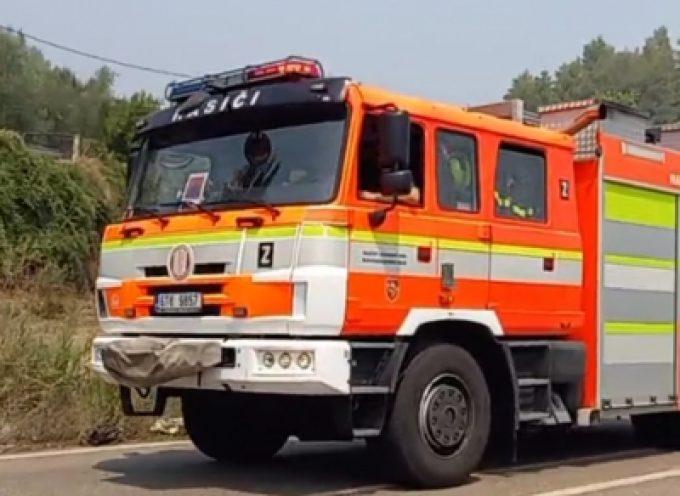 Πυροσβέστες από την Τσεχία έφτασαν στην Γορτυνία για να συμβάλλουν στις πυρκαγιές