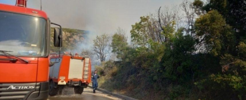 Φωτιά στη Μεγαλόπολη: Τραυματίστηκε ο αντιδήμαρχος Δημήτρης Σιέμπος