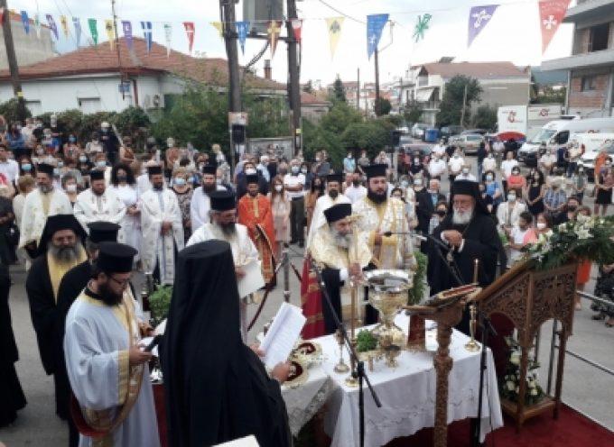 Τα Θυρανοίξια του Ι.Ν. Αγίου Τρύφωνος στην Τρίπολη (vid)