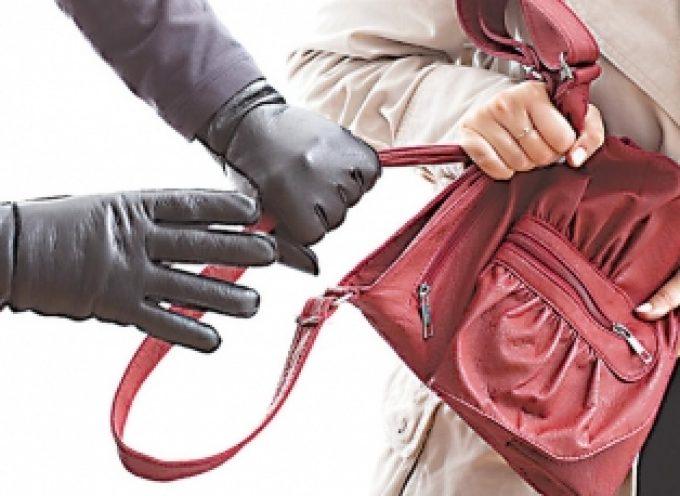 Εξιχνιάστηκαν κλοπές τσάντας στην Τρίπολη